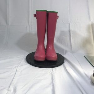 Ralph Lauren  pink polo rain boots size 4